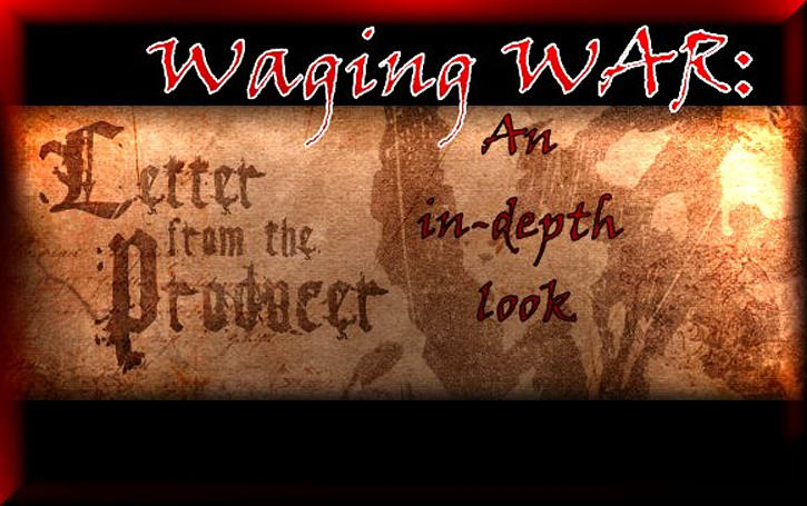 Waging WAR: An in-depth look at the Producer's Letter