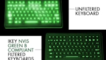 iKey unveils night-vision compatible keyboards