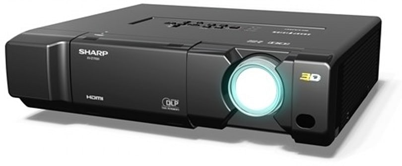 Sharp prepares XV-Z17000 3D DLP projector for 2011 release