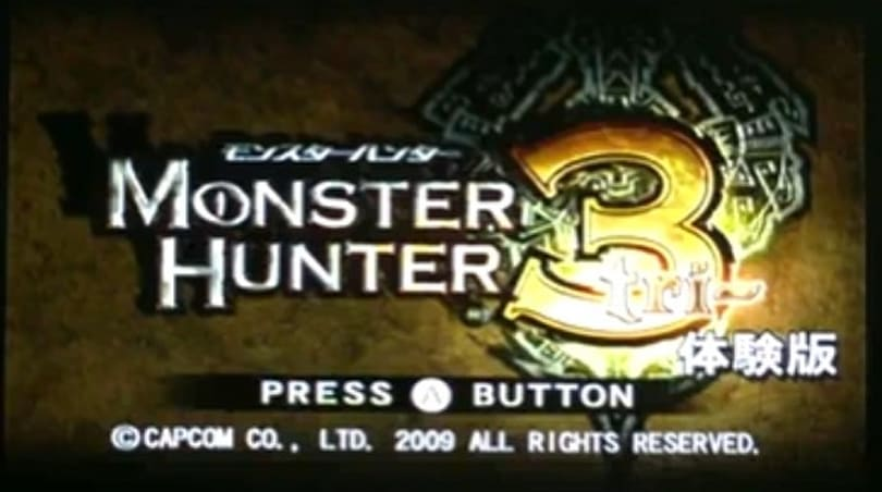 Ten minutes of poorly played Monster Hunter 3