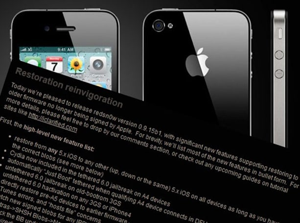 iOS 6 tethered jailbreak updated with official Cydia, quicker installation for your A4-packing device