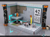 Portal 2 Lego set reaches support goal, is off to review by 'Lego jury'