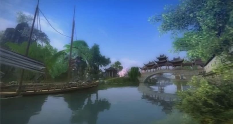 Massively Exclusive: Age of Wushu's launch trailer flips over the heads of the competition