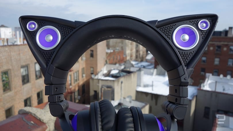 Axent Wear's cat ear headphones are the stuff of anime dreams