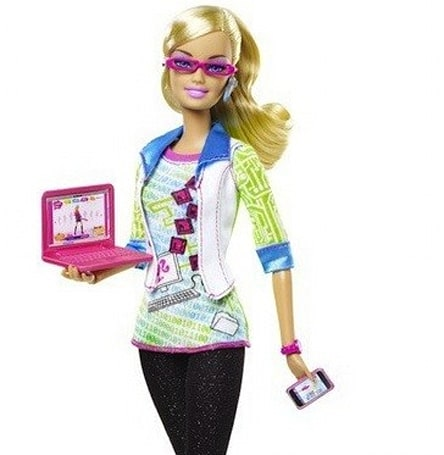 Engadget giveaway: win a Computer Engineer Barbie!