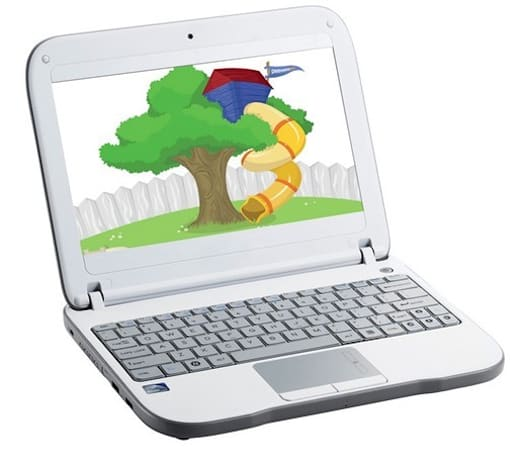 PeeWee PC netbook moves to 2.0, rated to take the worst your tot can deliver