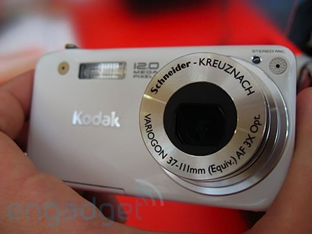 Hands-on with Kodak's new EasyShare lineup