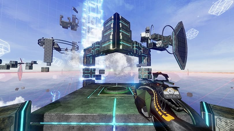 First-person platformer Deadcore is a sci-fi speedrun