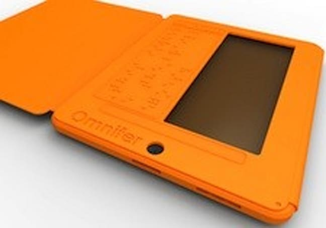Omnifer adds Braille, makes iPad useful for the blind