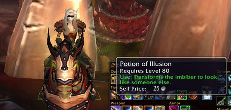 5 stupid-awesome uses for a Potion of Illusion
