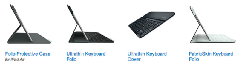 Logitech announces four new products for iPad Air