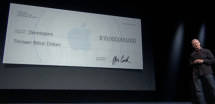 During the last 4 months, Apple paid out $25 million per day to iOS developers