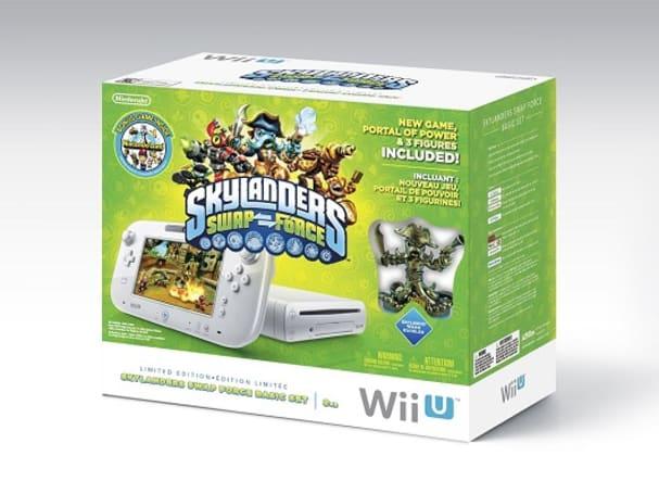 Skylanders Swap Force Wii U bundle assembling in November