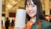 au、『固定回線の代替』ねらう下り400Mbps超のホームルータ「Speed Wi-Fi HOME」を2月発売