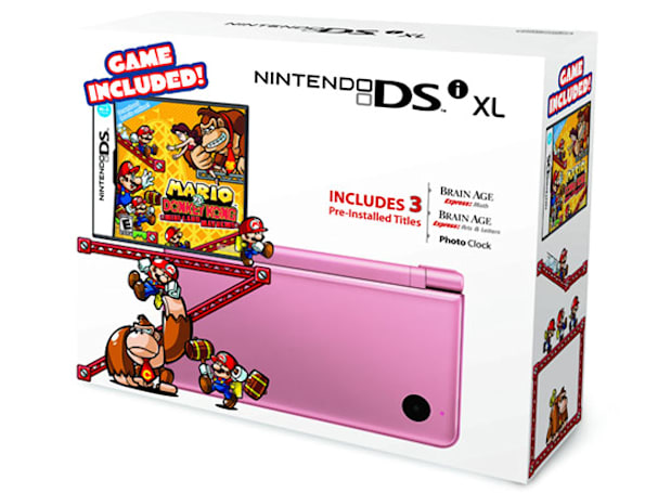 Nintendo DSi XL bundles land on November 6th, just in time for the holidays