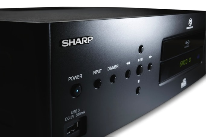 Sharp's new Blu-ray wireless player is WiSA-certified, ships this spring for $4,000