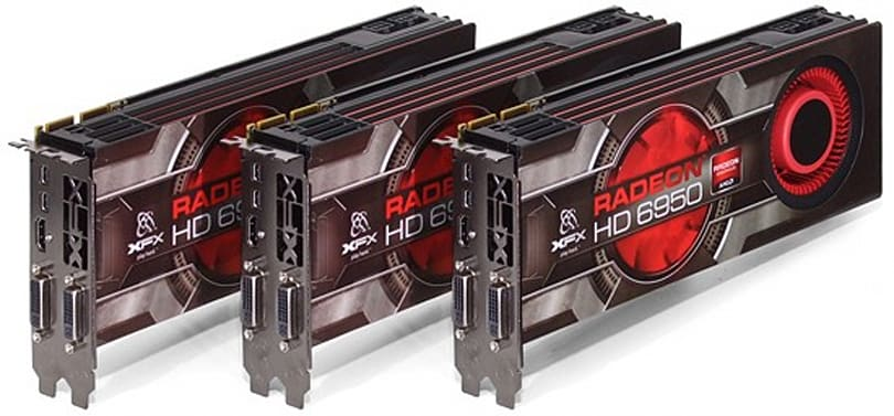 NVIDIA SLI faces AMD CrossFire in a triple-GPU shootout