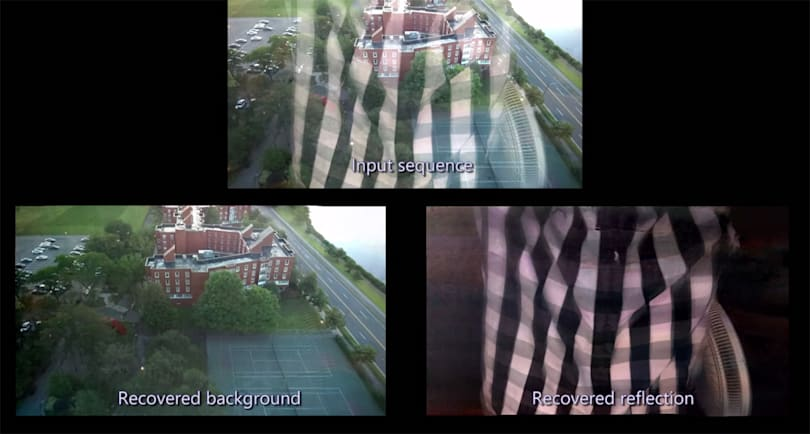 Google and MIT can take reflection-free photos through windows