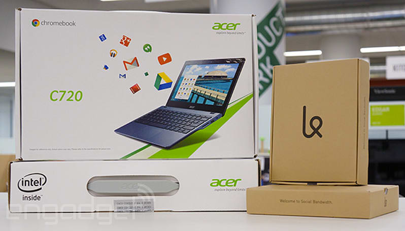 Engadget giveaway: win one of two Acer Chromebooks courtesy of Karma!