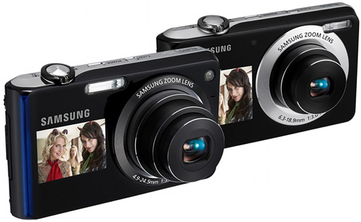 Samsung TL210 and TL205 bring DualView to entry level shooters