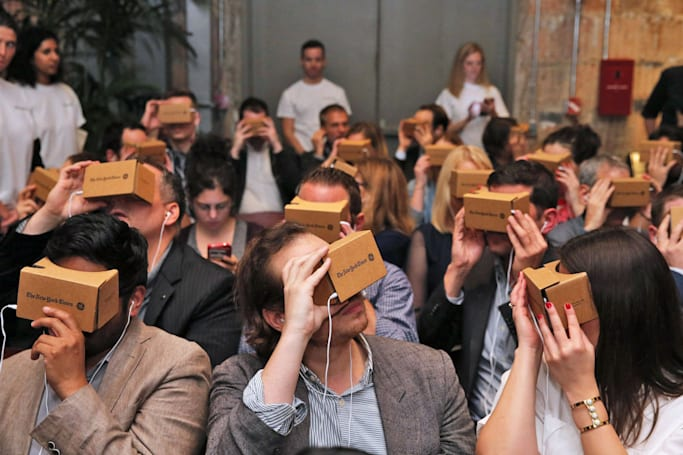 NY Times sends 300,000 Google Cardboard viewers to subscribers