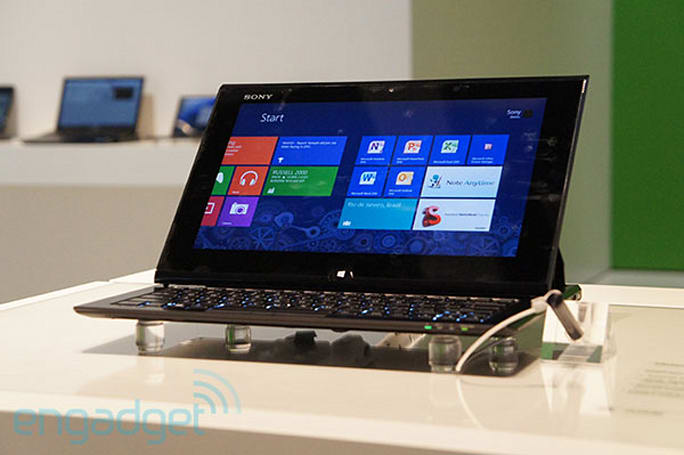 Sony's VAIO Duo 11 Windows 8 slider goes on sale this month, starts at $1,100