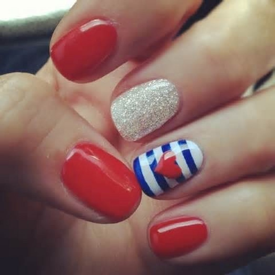 Mani Monday: Flag-Inspired Nails