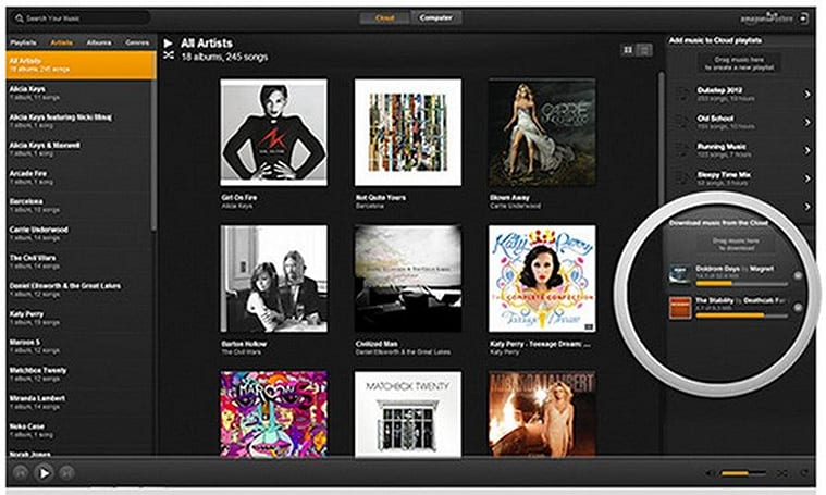 Amazon brings MP3 purchasing to its Cloud Player for PC app