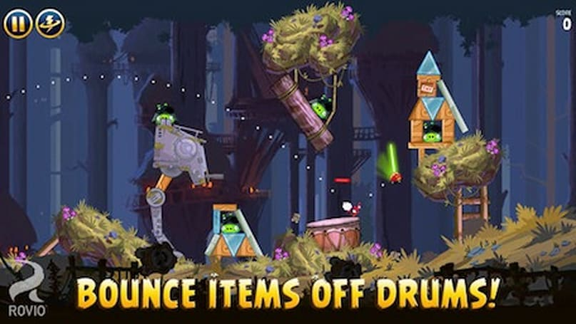 Angry Birds Star Wars adds 30 Moon of Endor levels