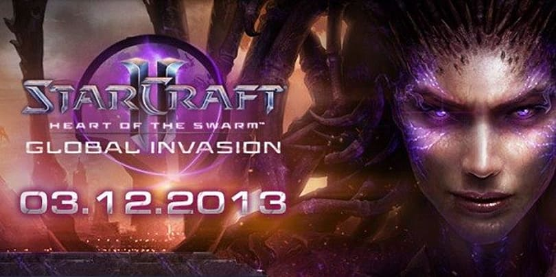 Starcraft II: Heart of the Swarm launch schedule