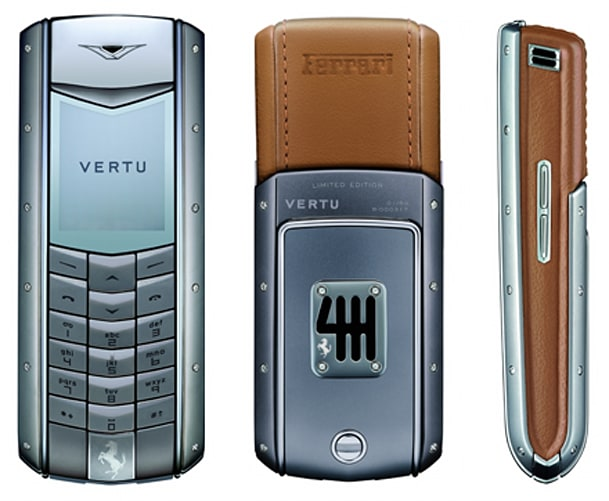 Vertu Does It Again Crafts Second Ferrari Phone For 25k
