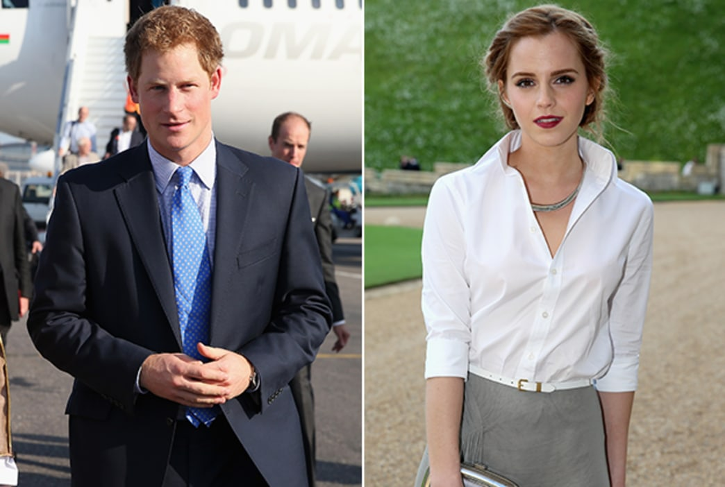 Are Prince Harry and Emma Watson dating?!