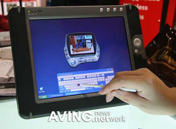 Tatung launching 10.4-inch WebPad TX-3000 tablet PC