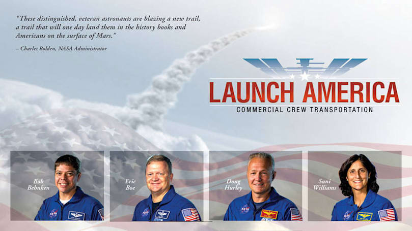 Say hello to NASA's first commercial flight astronauts