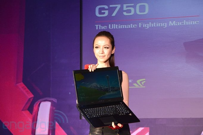 ASUS ROG announces G750 gaming laptop with NVIDIA GeForce GTX 700M series graphics