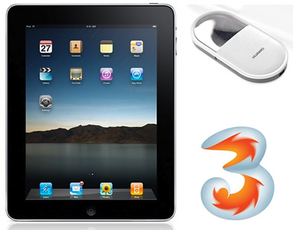 Hutchison Austria to offer discounted iPad with 2-year contract for i-Mo 3G modem
