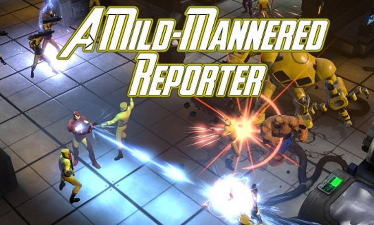 A Mild-Mannered Reporter: What's the problem with Marvel Heroes?
