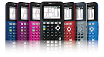 TI's super-slim graphing calculator shows that math can be stylish