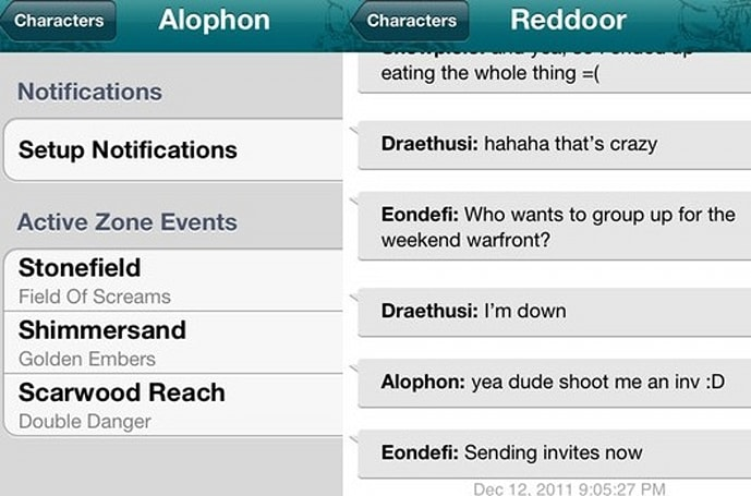 Get your lootables and chatables on with Trion's new RIFT iOS app