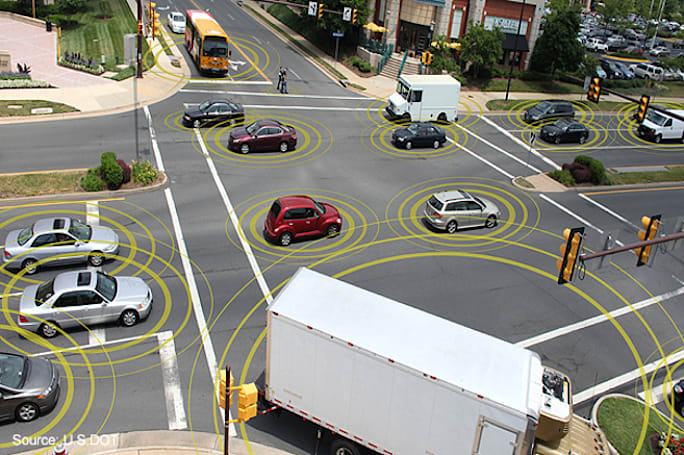 The government wants our cars to 'talk' to each other