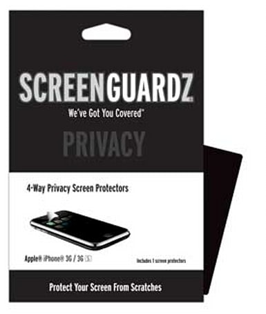 Macworld 2010: ScreenGuardz Privacy film keeps prying eyes off your iPhone
