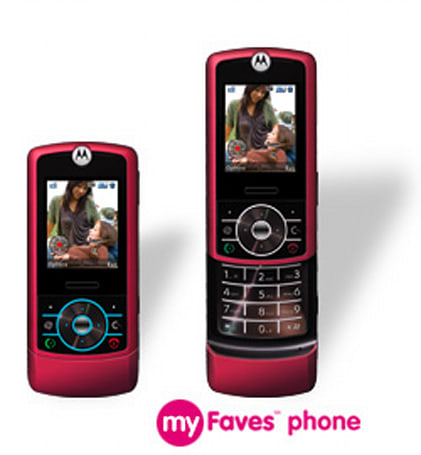 Motorola's rosy RIZR Z3 on T-Mobile website