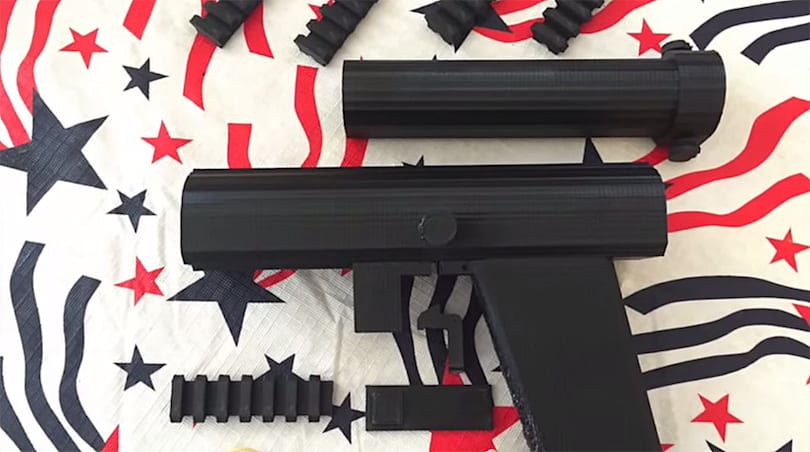 Man 3D prints dart gun to protest weapon blueprint law