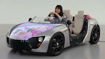 Toyota's LED-lit concept car lets your kids customize the hood