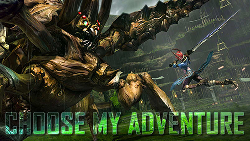 Choose My Adventure: TERA's Fate of Arun