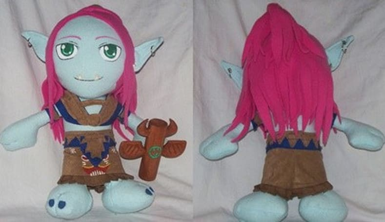 Custom WoW plushies look adorable
