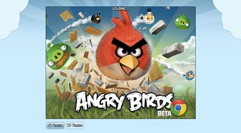 Angry Birds launch assault on internet browsers, Chrome OS