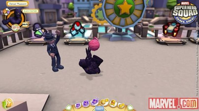 Black Panther prowls into Super Hero Squad Online