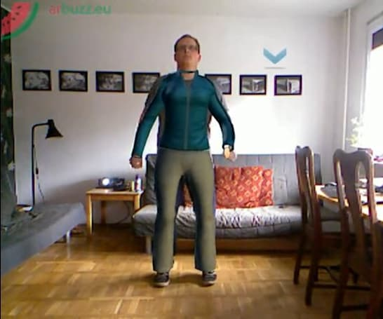Kinect app promises you'll wear flowery skirts, and you'll like it (video)