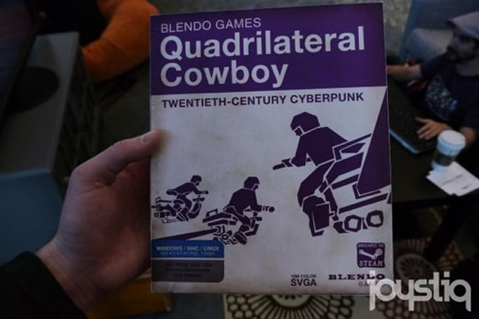 Seen@GDC 2014: The 1987 PC version of Quadrilateral Cowboy